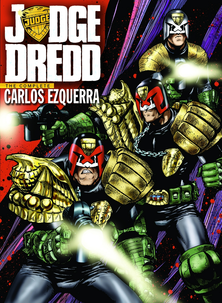 JudgeDredd TheCompleteCarlosEzquerra Vol1 IDW PUBLISHING Solicitations for FEBRUARY 2013