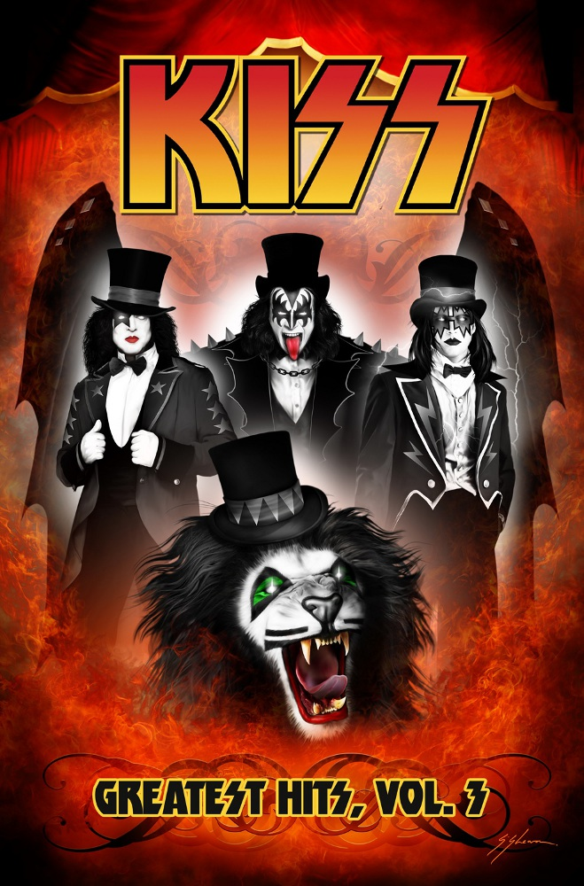 KISS GreatestHits Vol3 IDW PUBLISHING Solicitations for FEBRUARY 2013