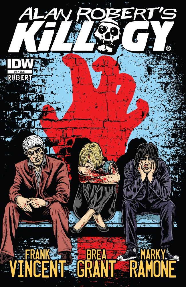 Killogy 03 CvrA IDW PUBLISHING Solicitations for FEBRUARY 2013