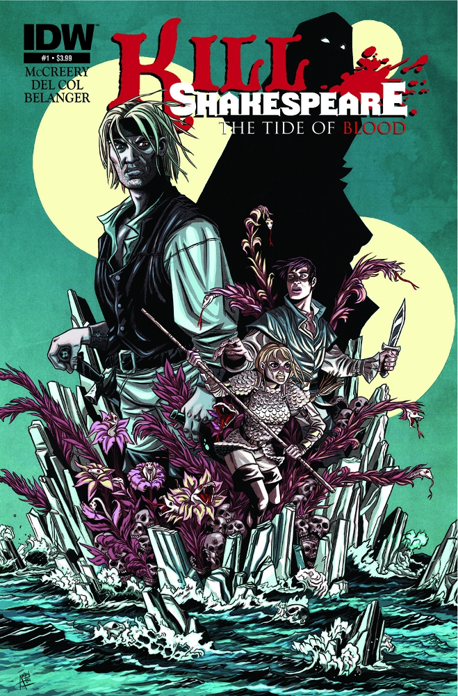 KillsShakespeare TheTideofBlood 01 CvrA IDW PUBLISHING Solicitations for FEBRUARY 2013