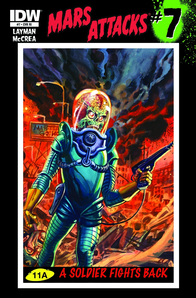 MarsAttacks 07 CvrRI IDW PUBLISHING Solicitations for FEBRUARY 2013