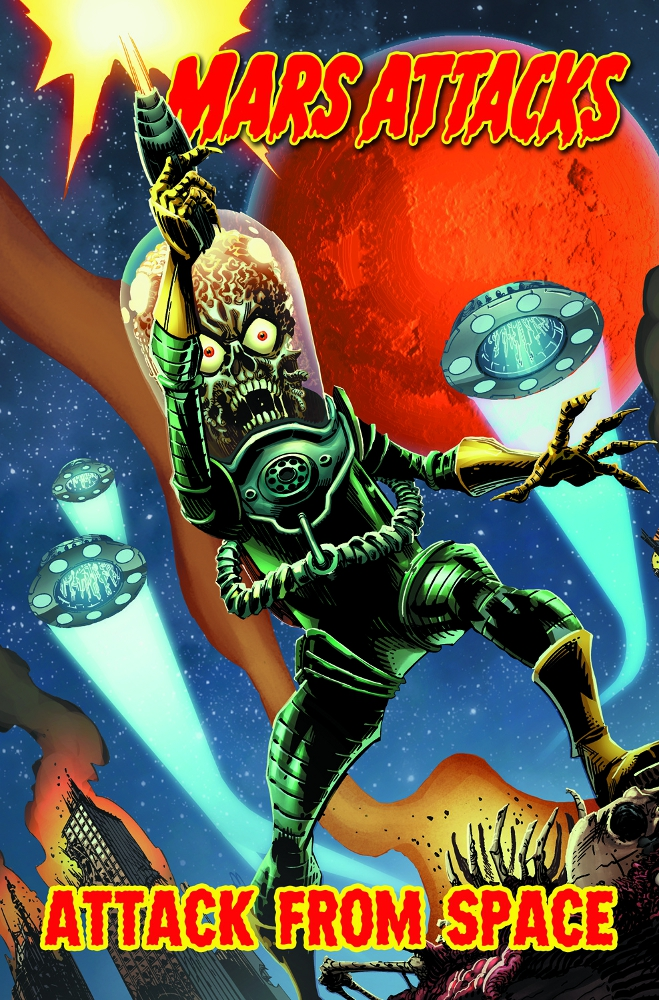 MarsAttacks Vol1 IDW PUBLISHING Solicitations for FEBRUARY 2013
