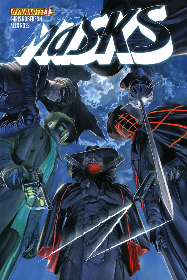 Masks01 Cov Ross Weekly Comic Reviews 11/28