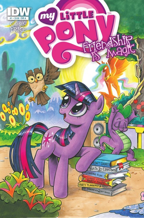 MyLittlePony01 CvrA Weekly Comic Reviews 11/28