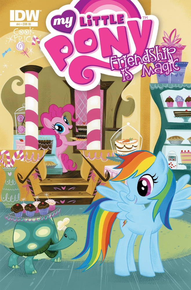 MyLittlePony FriendshipisMagic 04 CvrRI IDW PUBLISHING Solicitations for FEBRUARY 2013