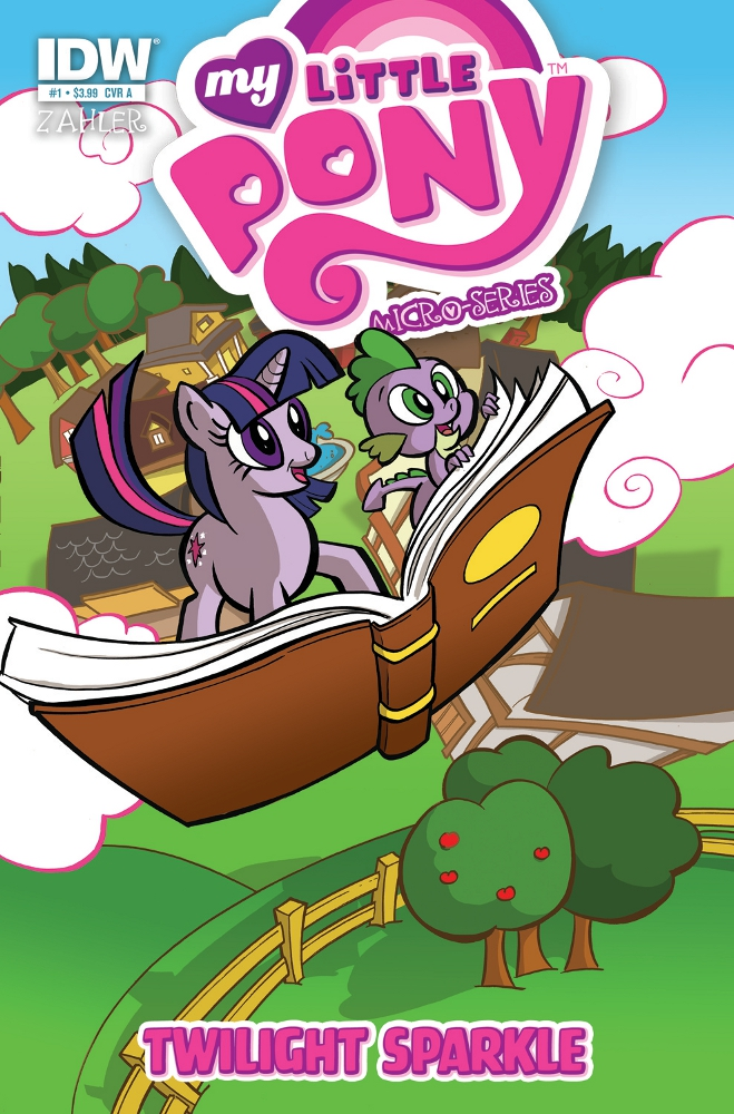 MyLittlePony MicroSeries 01 TwilightSparkle CvrA IDW PUBLISHING Solicitations for FEBRUARY 2013
