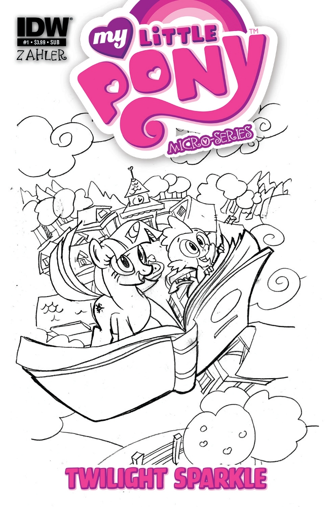 MyLittlePony MicroSeries 01 TwilightSparkle CvrRI IDW PUBLISHING Solicitations for FEBRUARY 2013