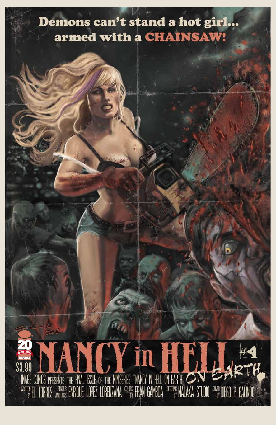 Nancy in Hell On Earth 4 C Nancy In Hell (On Earth) #4 Review