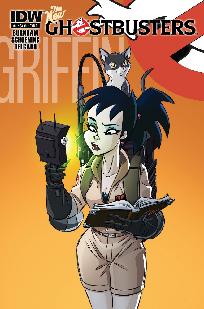 NewGhostbusters 01 CvrC IDW PUBLISHING Solicitations for FEBRUARY 2013