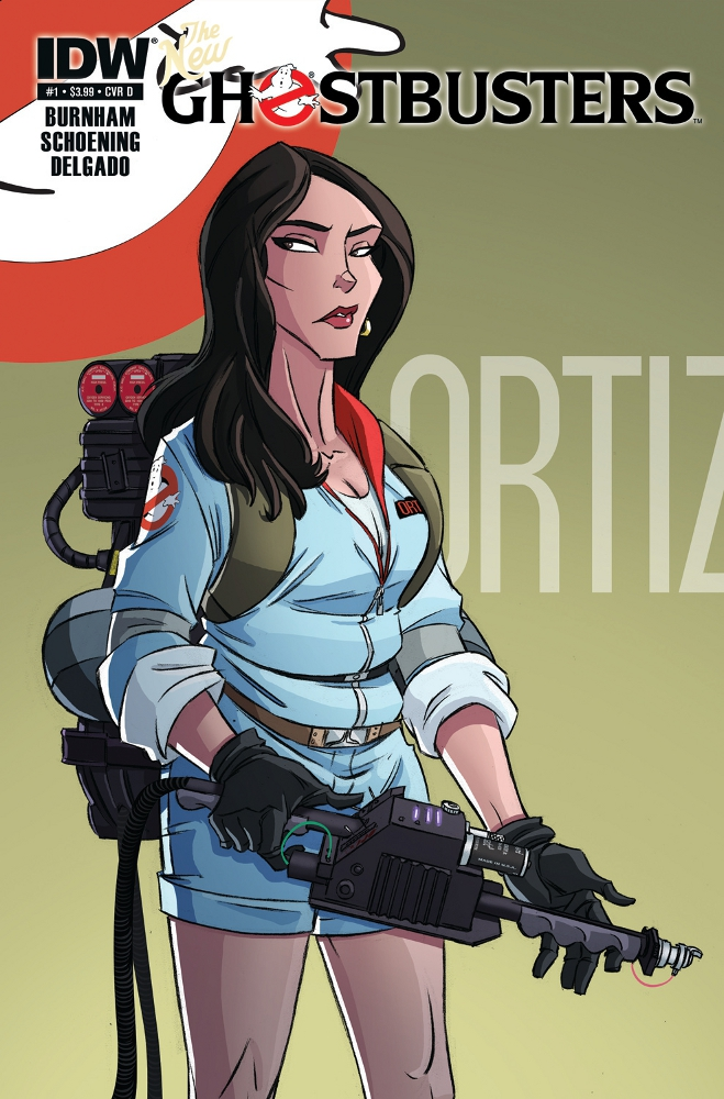 NewGhostbusters 01 CvrD IDW PUBLISHING Solicitations for FEBRUARY 2013
