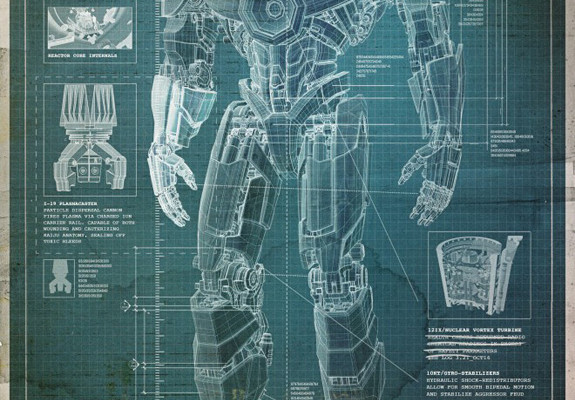 Pacific Rim Robot Blueprint