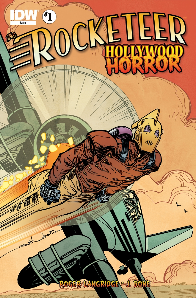 Rocketeer HollywoodHorror 01 CvrA IDW PUBLISHING Solicitations for FEBRUARY 2013