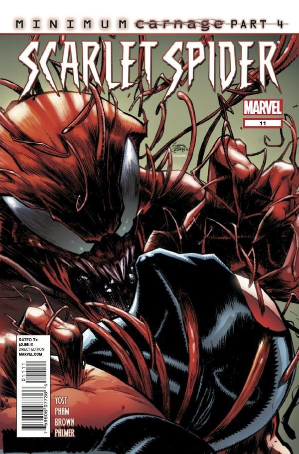 Scarlet Spider 11 C Scarlet Spider #11 Review