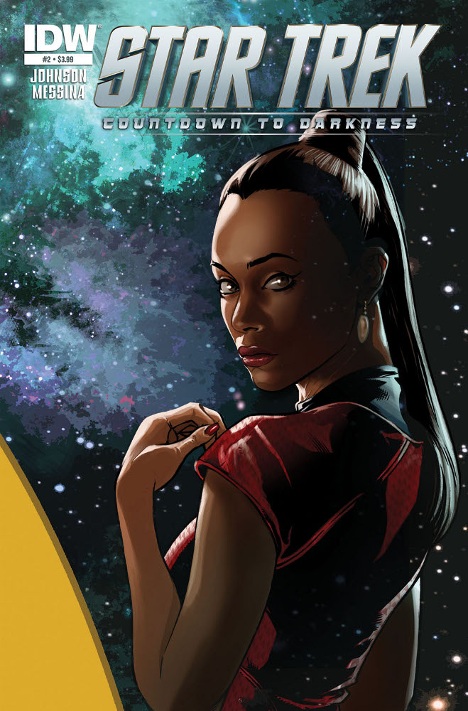 StarTrek CountdowntoDarkness 02 CvrA IDW PUBLISHING Solicitations for FEBRUARY 2013