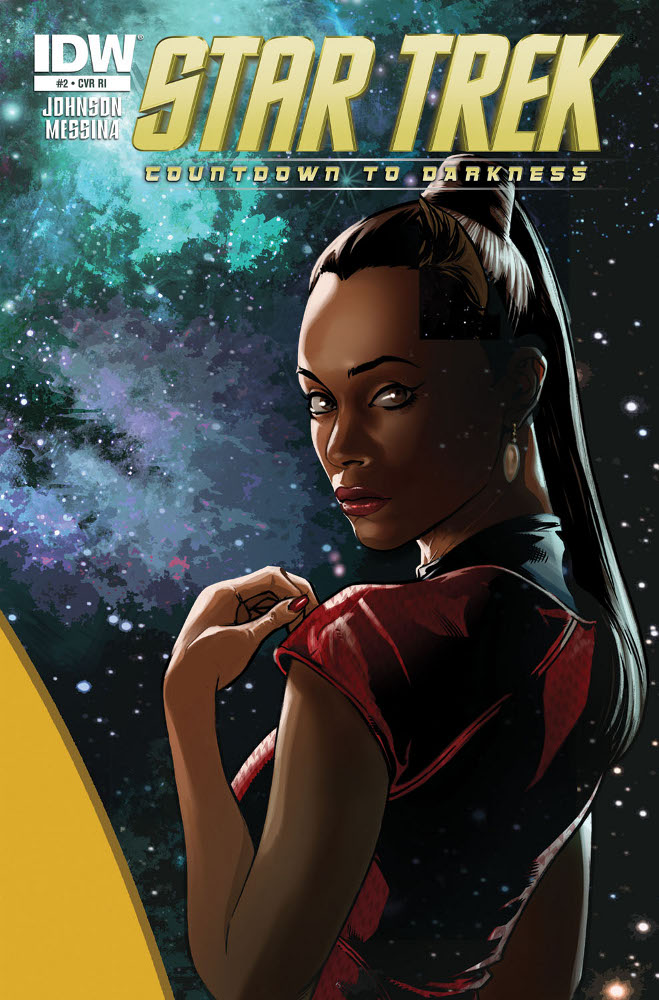 StarTrek CountdowntoDarkness 02 CvrRI IDW PUBLISHING Solicitations for FEBRUARY 2013