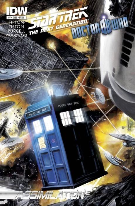 StarTrek DoctorWho 07 461x700 Weekly Comic Reviews 11/14