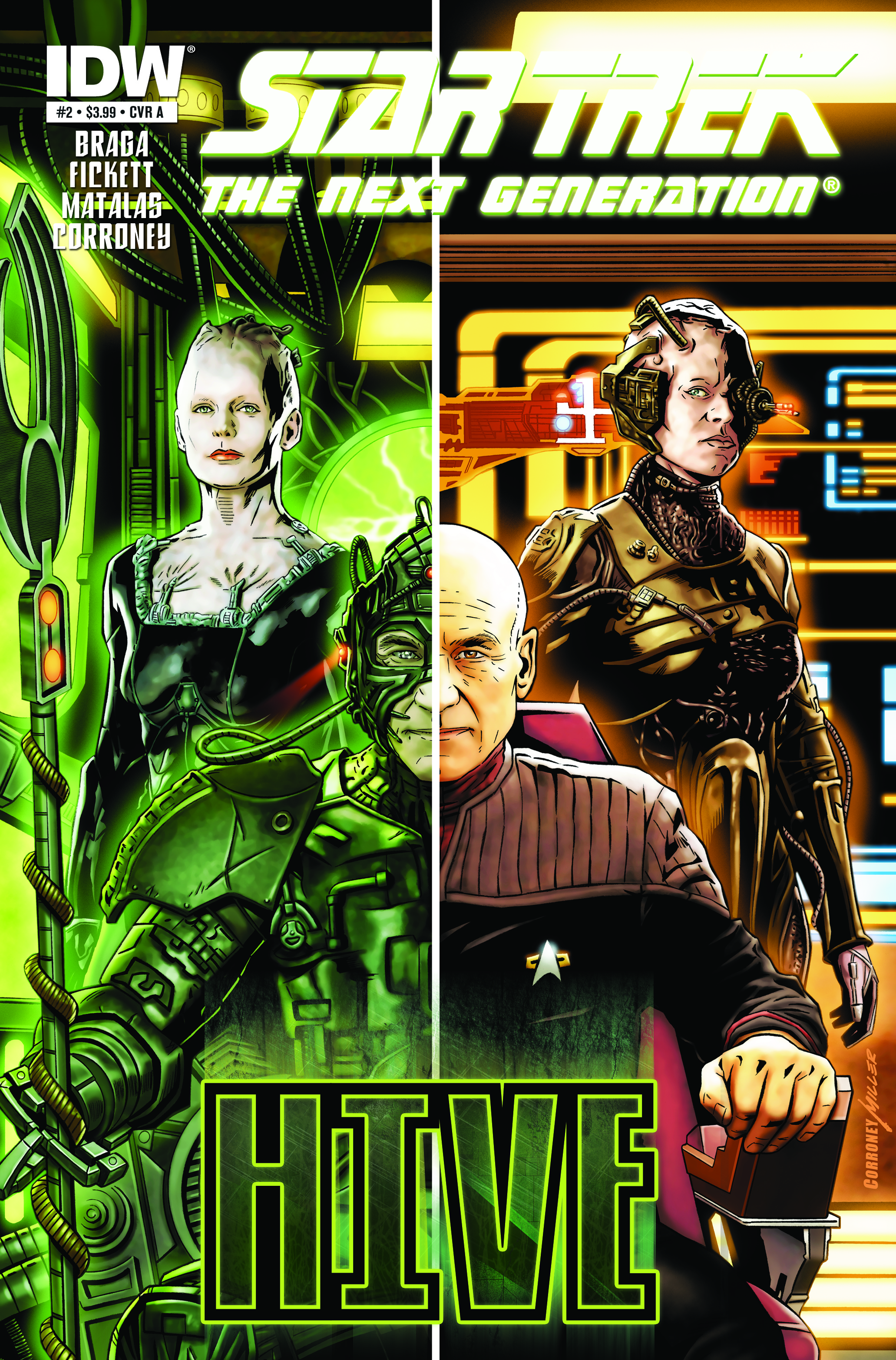 StarTrek TNG TheHive 02 CvrA Weekly Comic Reviews 11/7