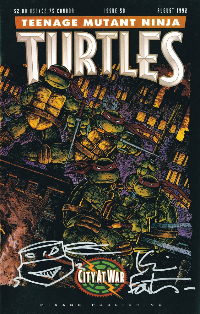 TMNT 50 TreasuryEdition IDW PUBLISHING Solicitations for FEBRUARY 2013