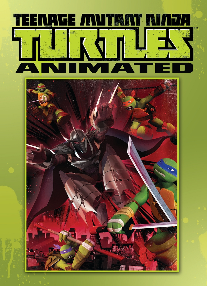 TMNT Animated Vol1 IDW PUBLISHING Solicitations for FEBRUARY 2013
