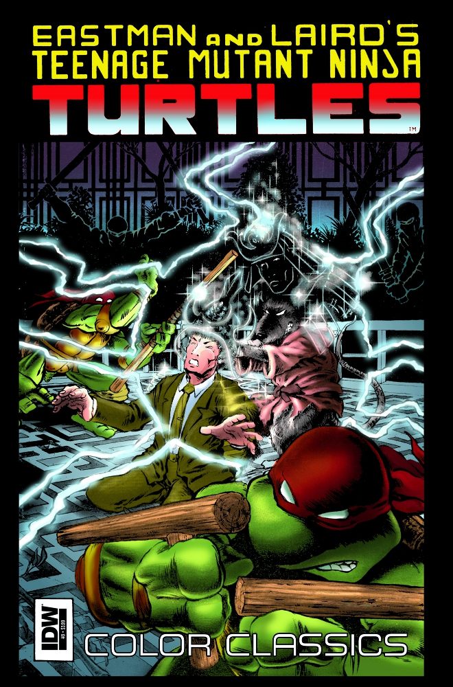 TMNT ColorClassics 09 IDW PUBLISHING Solicitations for FEBRUARY 2013