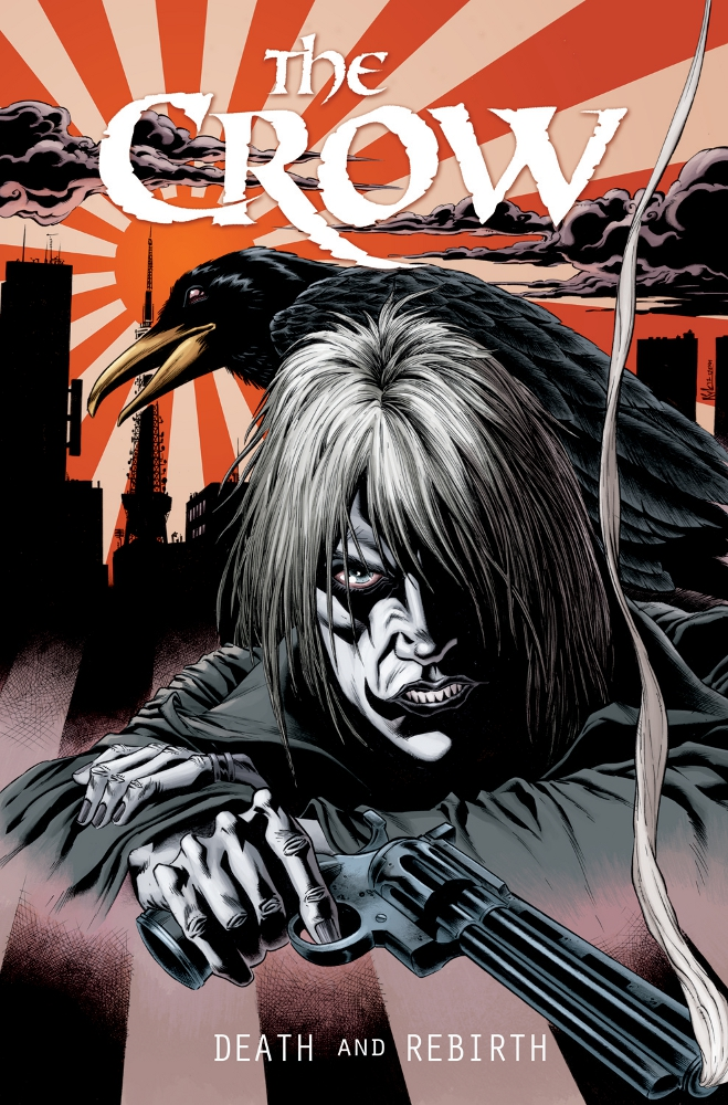 TheCrow DeathandRebirth IDW PUBLISHING Solicitations for FEBRUARY 2013