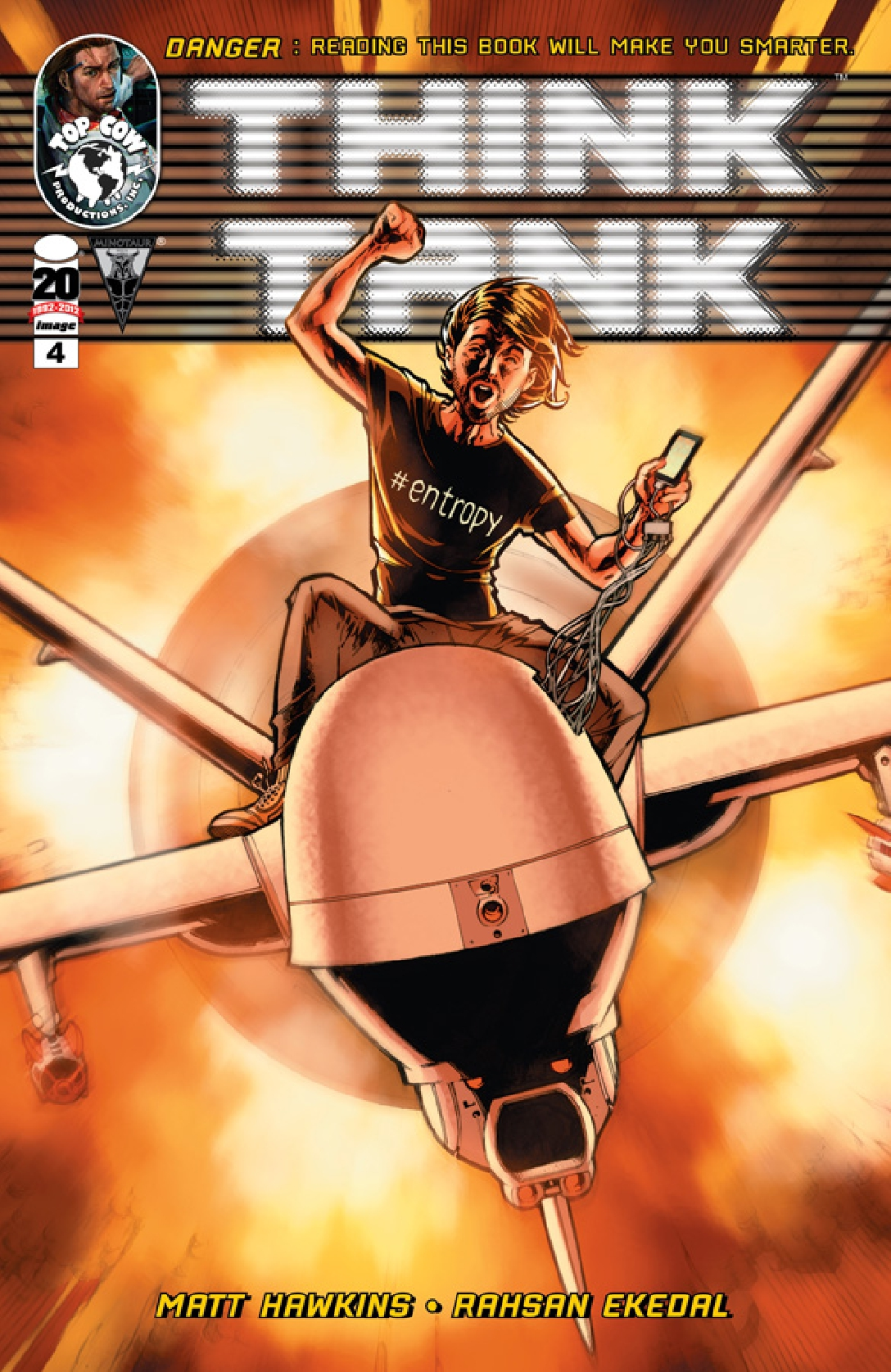 Think Tank 4 C Weekly Comic Reviews 11/14