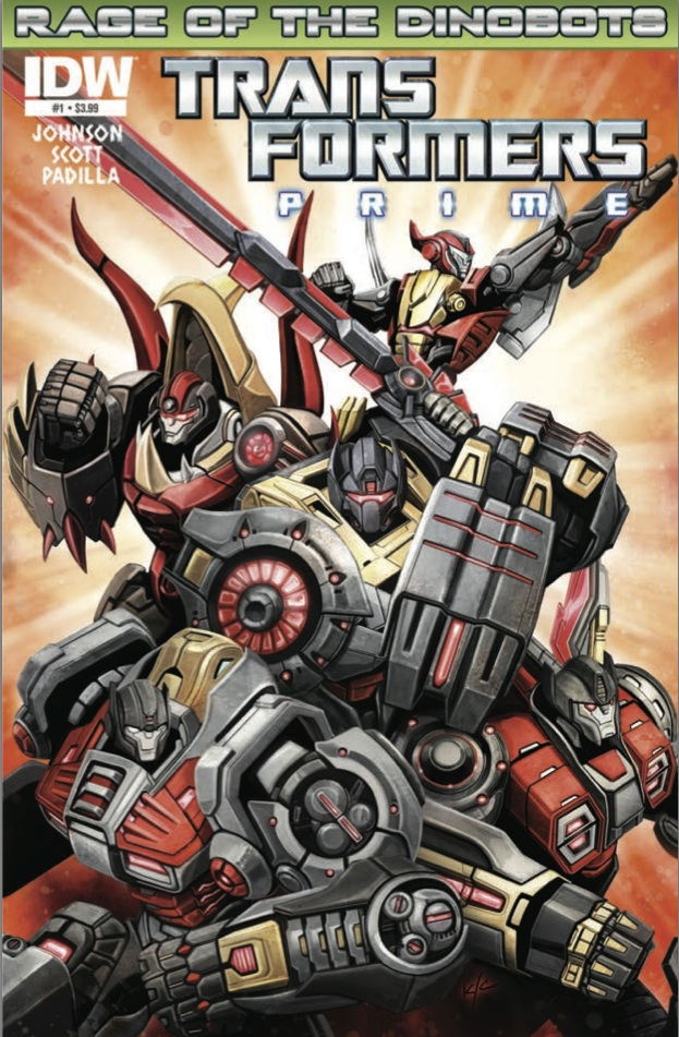 TransformersPrime RageoftheDinobots 01 CvrA Weekly Comic Reviews 11/28
