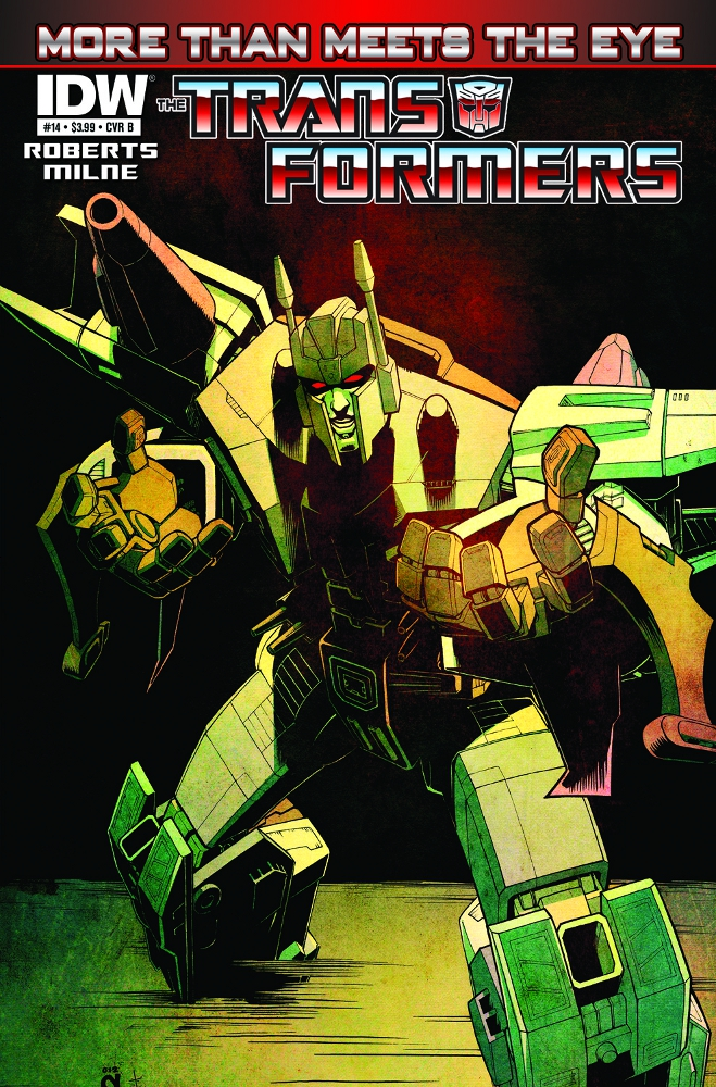 Transformers MoreThanMeetstheEye 14 CvrB IDW PUBLISHING Solicitations for FEBRUARY 2013