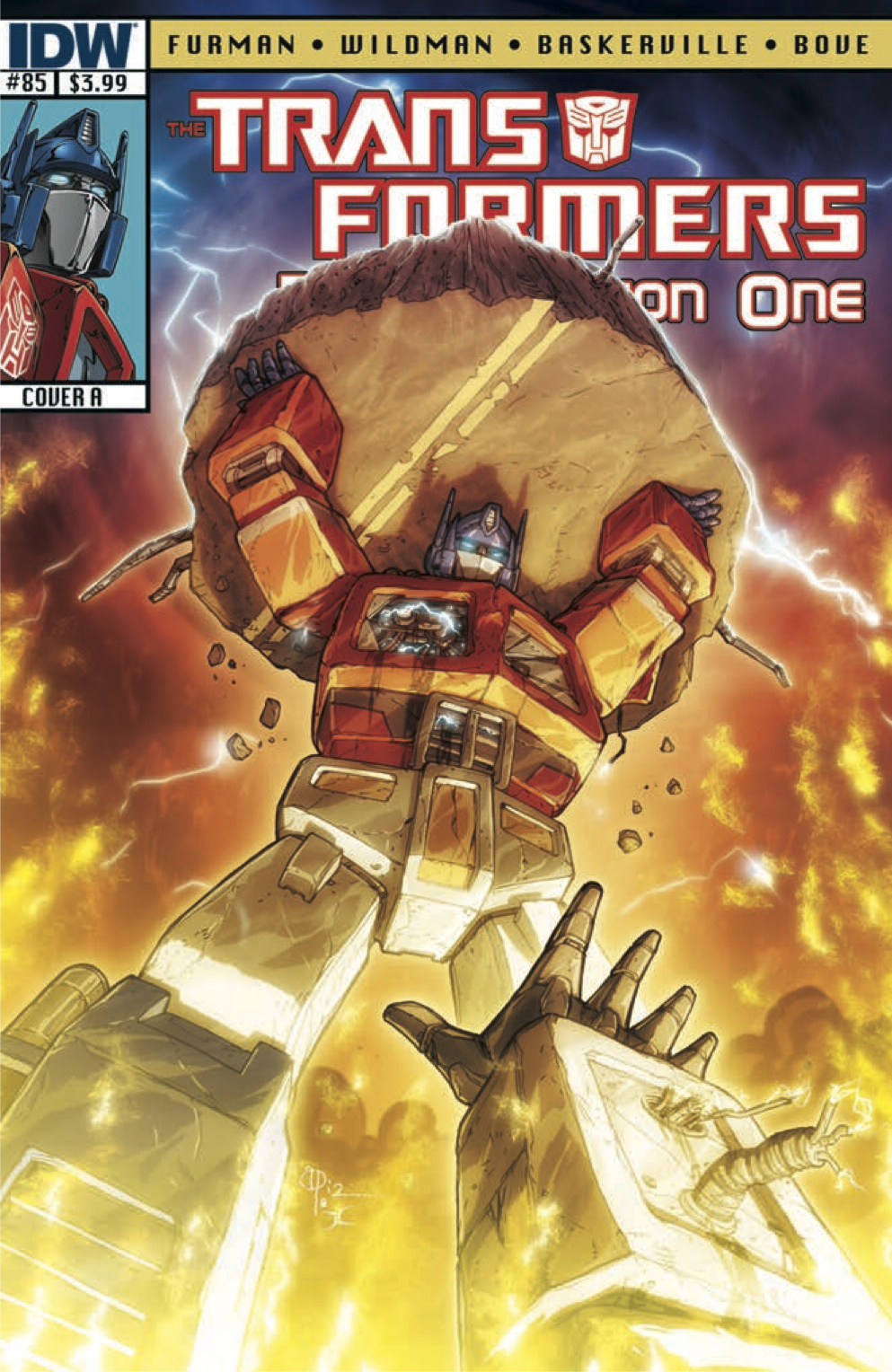 Transformers RegenerationOne 85 CvrA Weekly Comic Reviews 11/7