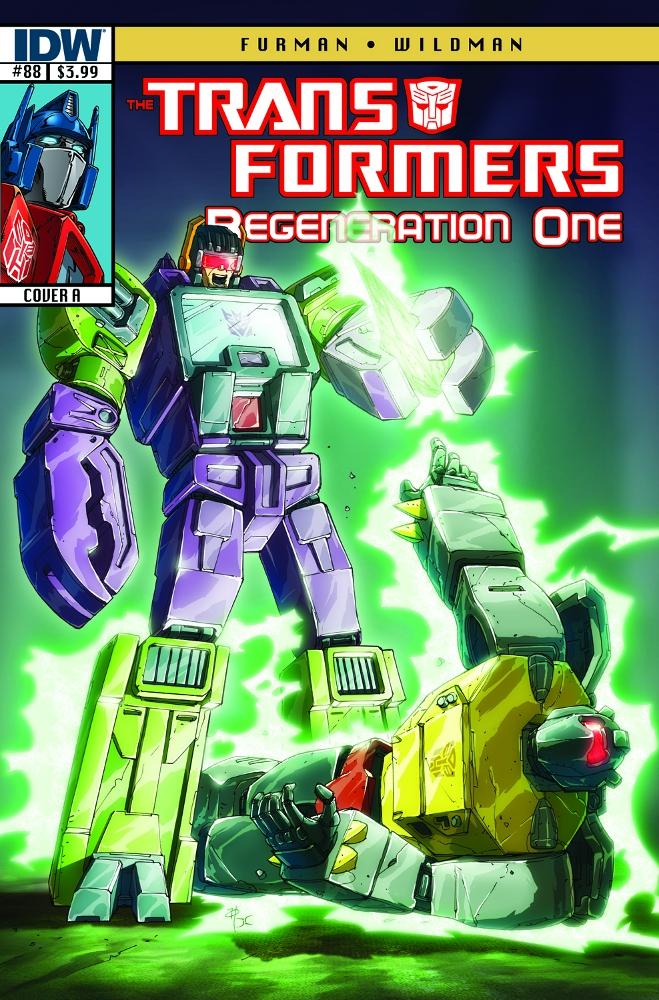 Transformers RegenerationOne 88 CvrA IDW PUBLISHING Solicitations for FEBRUARY 2013