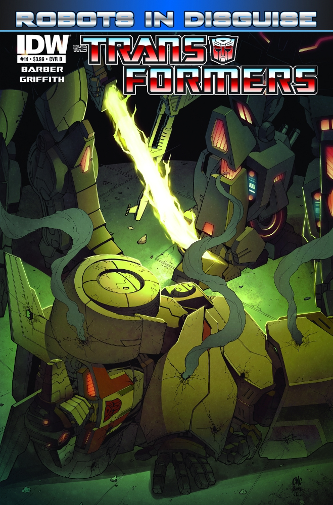 Transformers RobotsinDisguise 14 CvrB IDW PUBLISHING Solicitations for FEBRUARY 2013