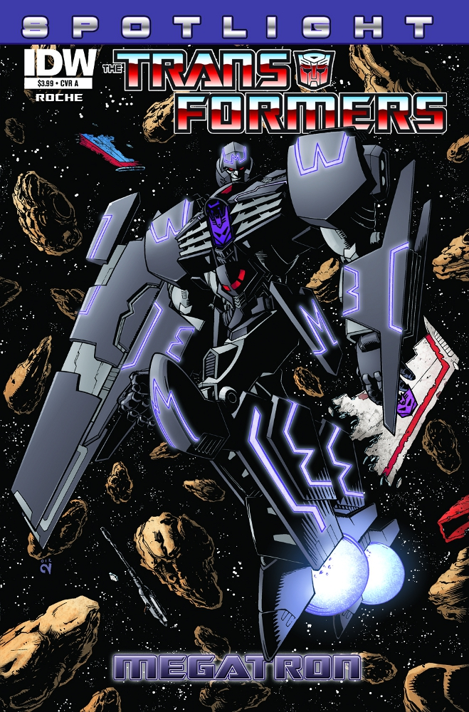 Transformers Spotlight Megatron CvrA IDW PUBLISHING Solicitations for FEBRUARY 2013