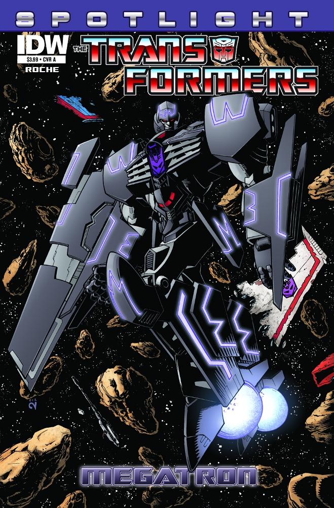 Transformers Spotlight Megatron CvrA IDW PUBLISHING Solicitations for FEBRUARY 2013