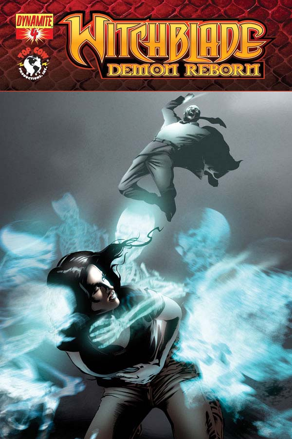 WBDemon04 Cov Calero Witchblade: Demon Reborn #4 Review