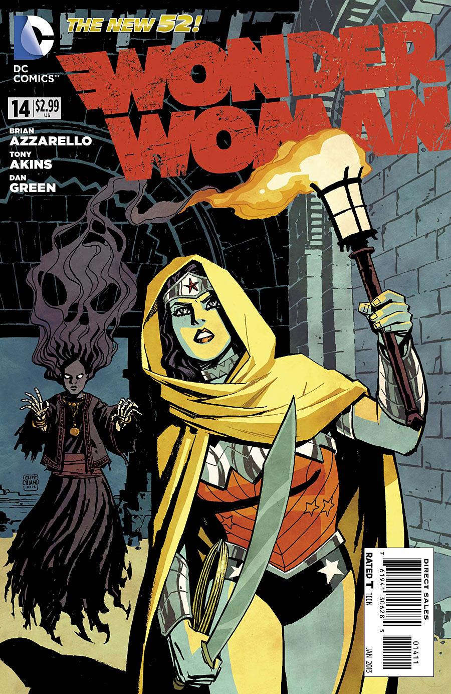 Wonder Woman 14 C Wonder Woman #14 Review