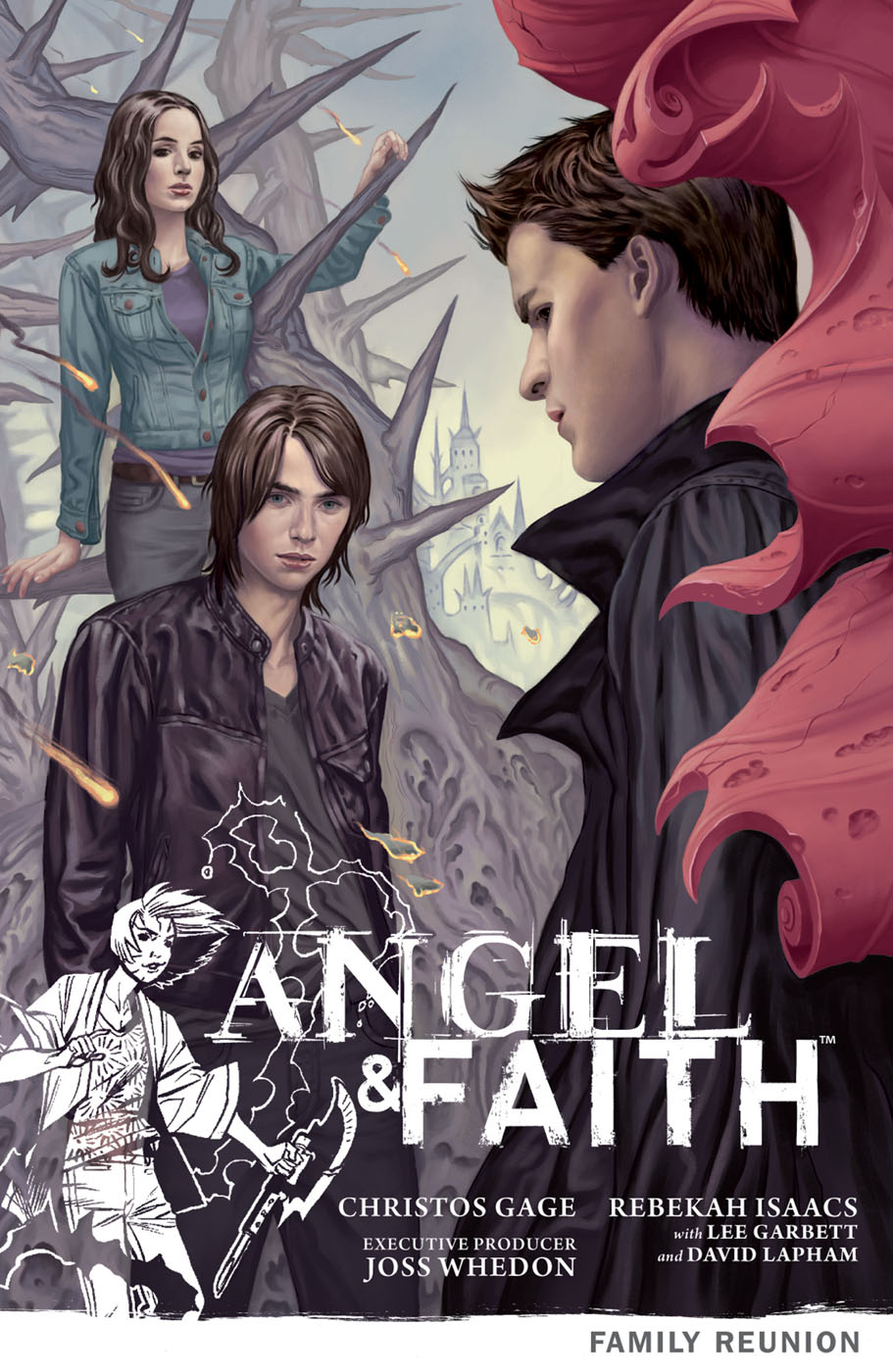 angelfaith3 DARK HORSE COMICS Solicitations for FEBRUARY 2013