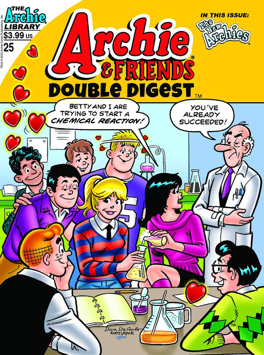 archiefriends25 ARCHIE COMICS Solicitations for FEBRUARY 2013