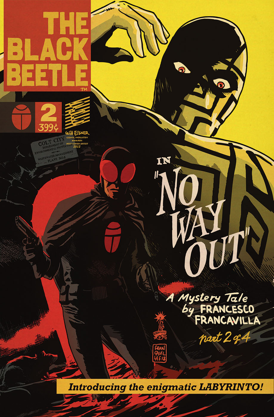 blackbeetle2 DARK HORSE COMICS Solicitations for FEBRUARY 2013