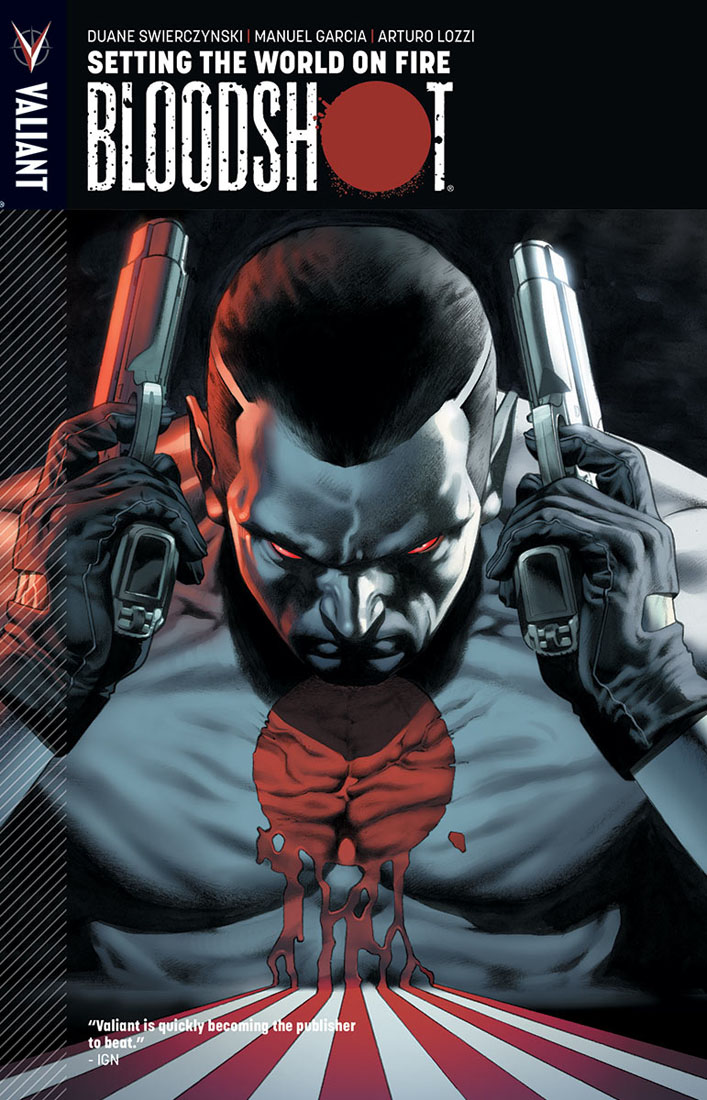 bloodshot1 VALIANT ENTERTAINMENT Solicitations for FEBRUARY 2013