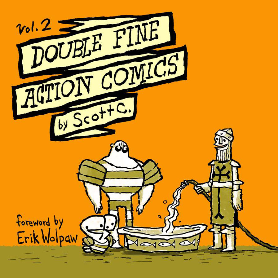 doublefine2 ONI PRESS Solicitations for FEBRUARY 2013