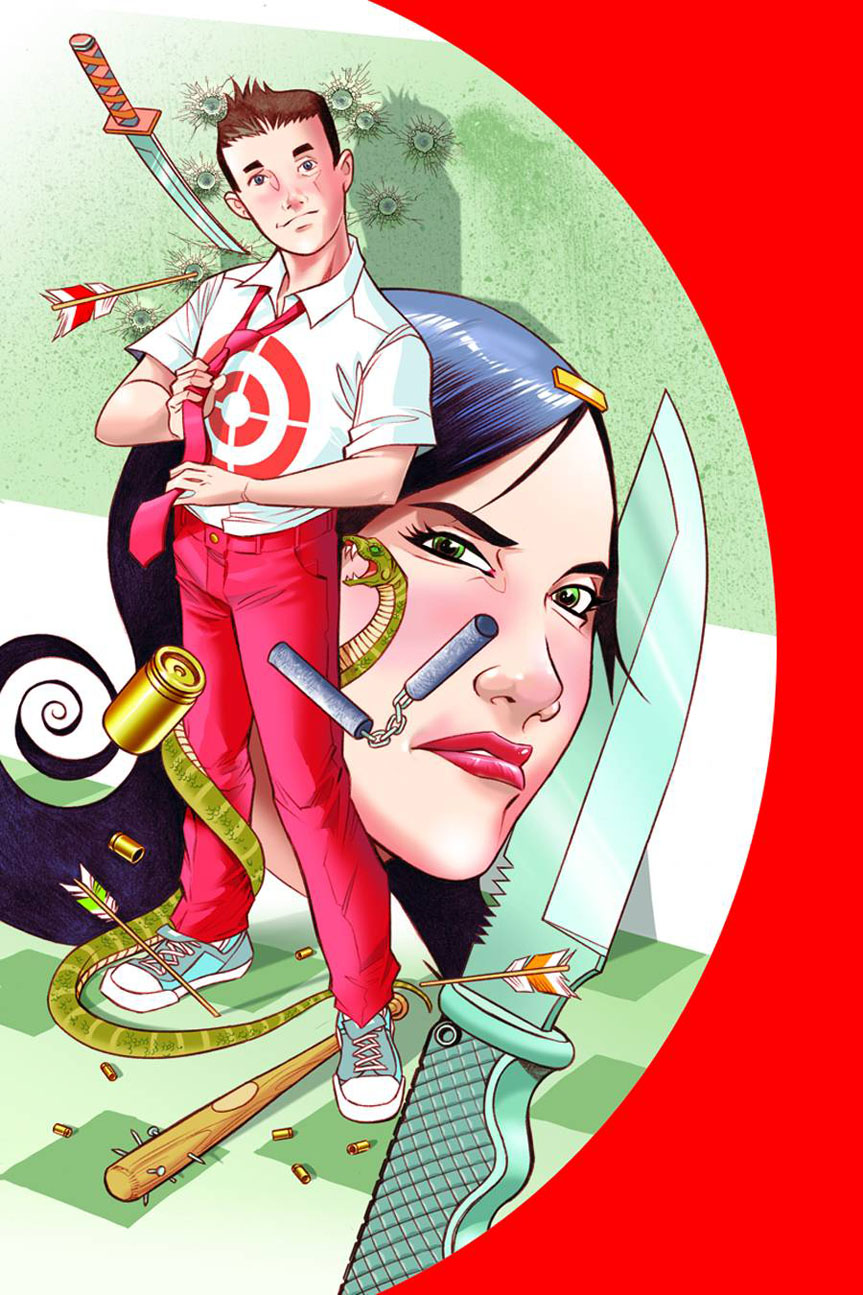 fiveweapons1 IMAGE COMICS Solicitations for FEBRUARY 2013