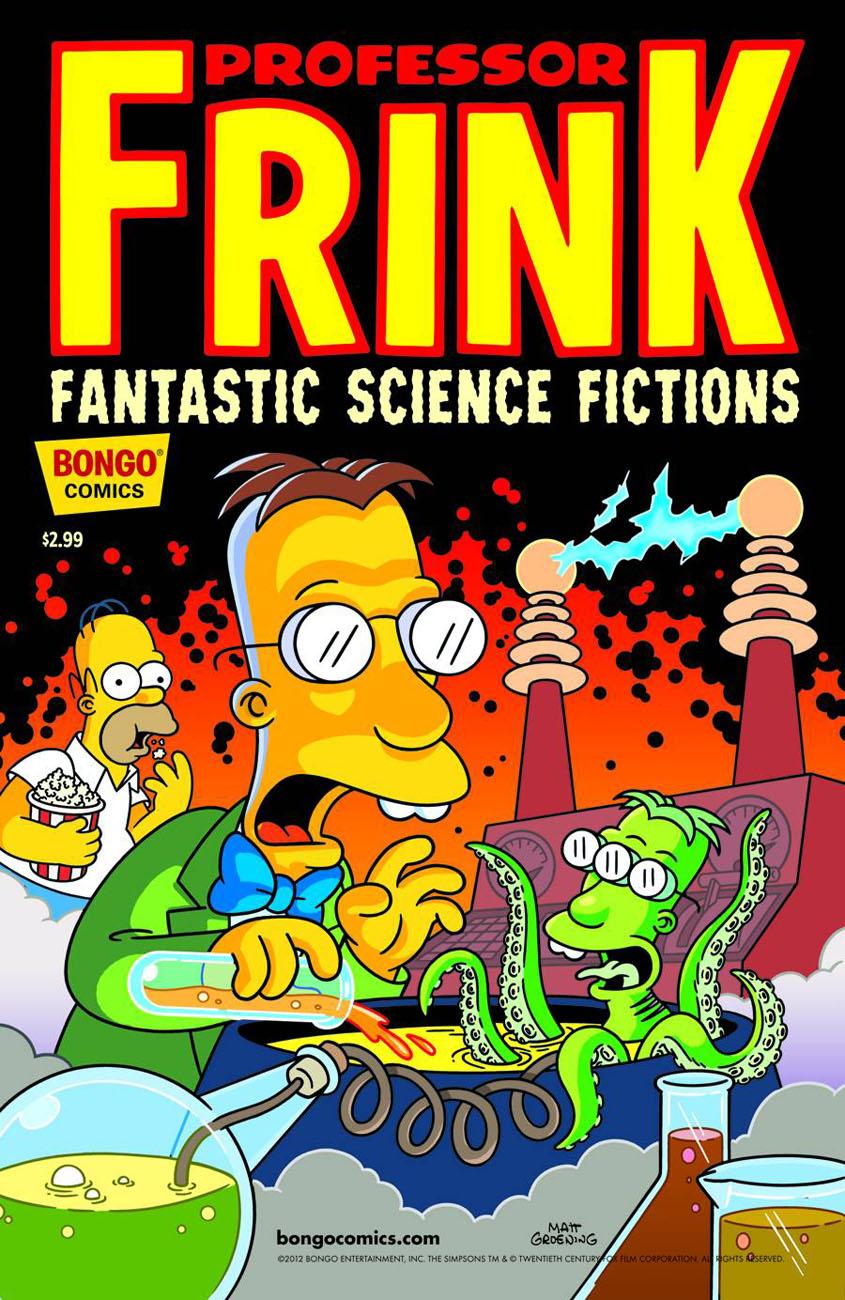 frink1 BONGO COMICS Solicitations for FEBRUARY 2013