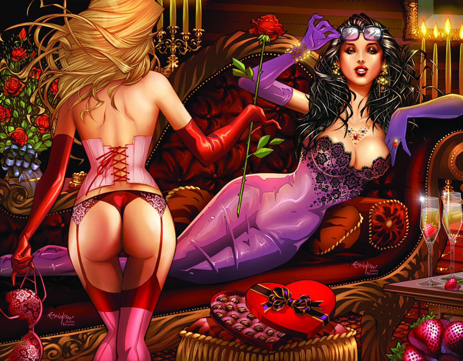 grimmvalentinesb ZENESCOPE ENTERTAINMENT Solicitations for FEBRUARY 2013