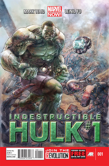 indestructible hulk 1 460x700 Indestructible Hulk #1 Review