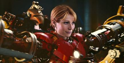 iron man 3 spoiler Gwenyth Paltrow Suits Up for IRON MAN 3