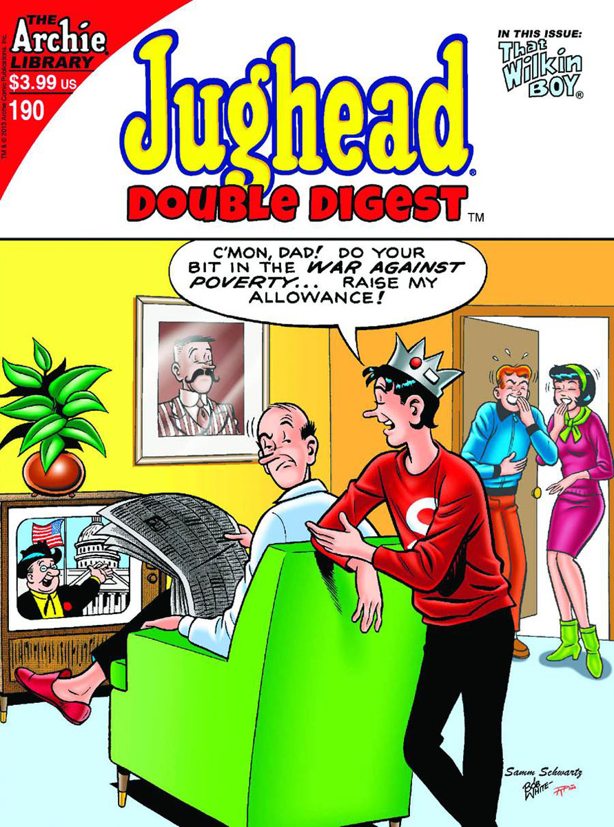 jughead190 ARCHIE COMICS Solicitations for FEBRUARY 2013