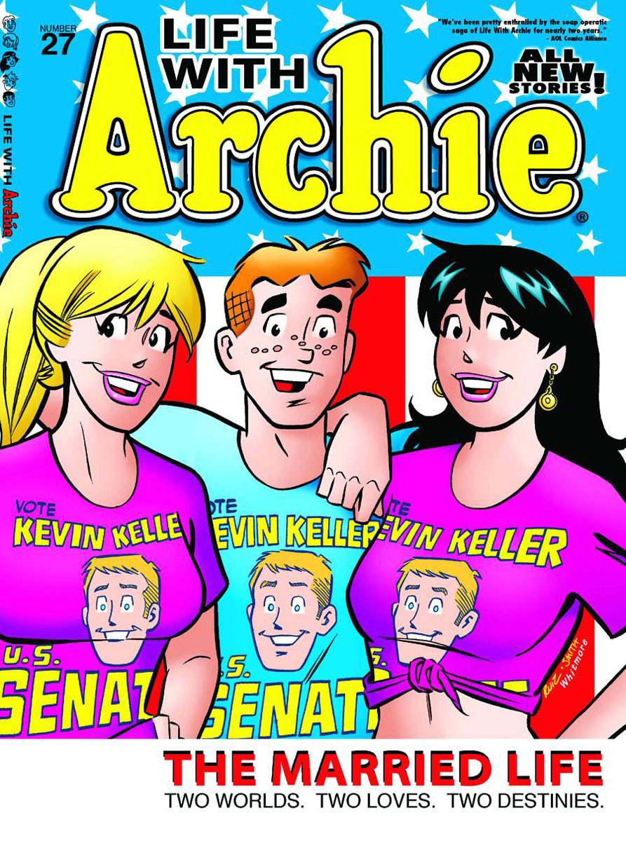 lifewitharchie27a ARCHIE COMICS Solicitations for FEBRUARY 2013