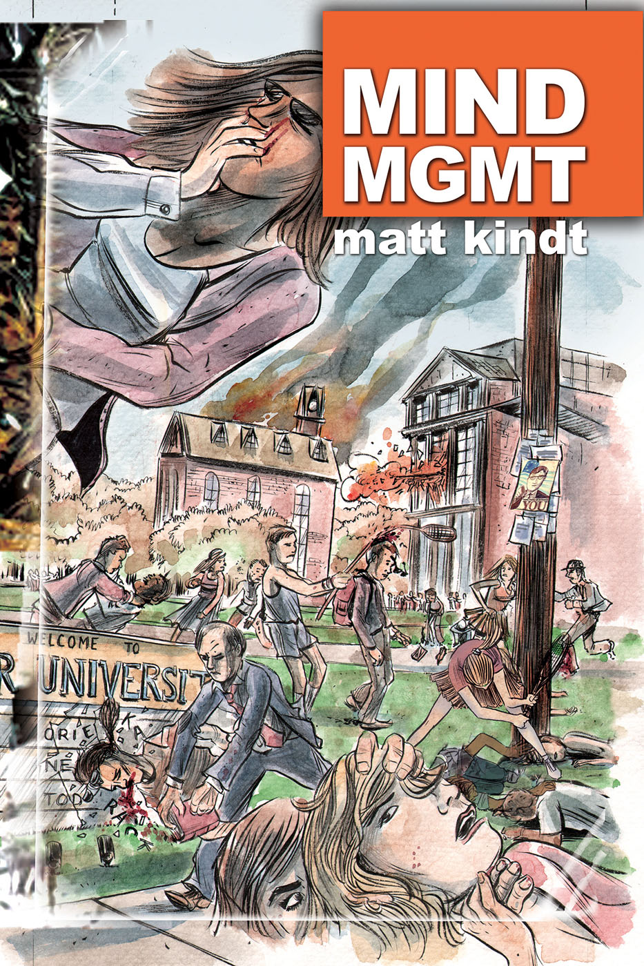 mindmgmt8 DARK HORSE COMICS Solicitations for FEBRUARY 2013