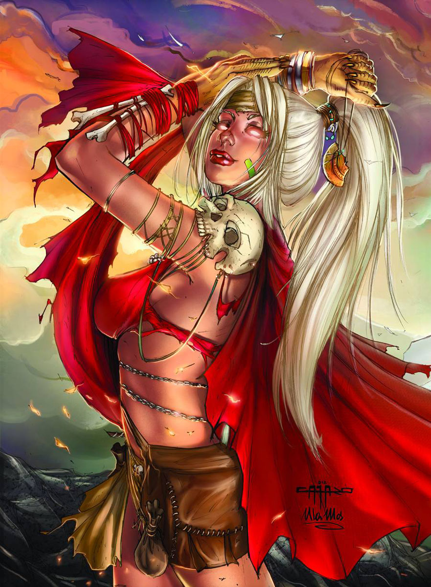 myths5 ZENESCOPE ENTERTAINMENT Solicitations for FEBRUARY 2013