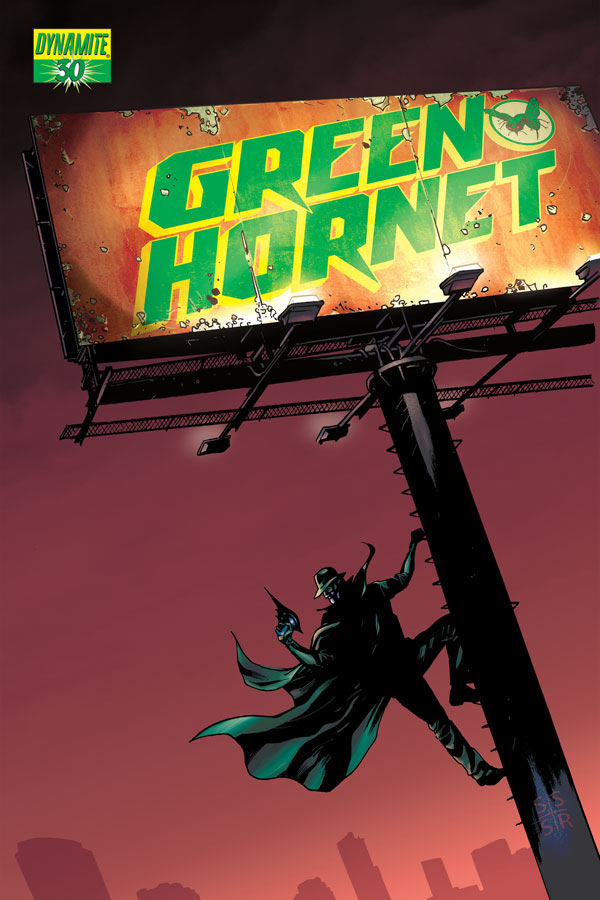 prv14050 cov Green Hornet #30 Review
